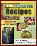 Living Superfoods Recipe Cover